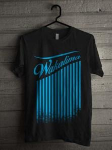 T Shirt Wakalima Hitam